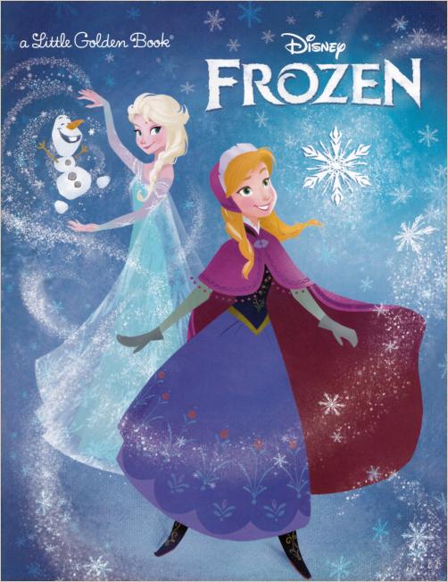【英文原版绘本】冰雪奇缘Frozen(PDF)3月21