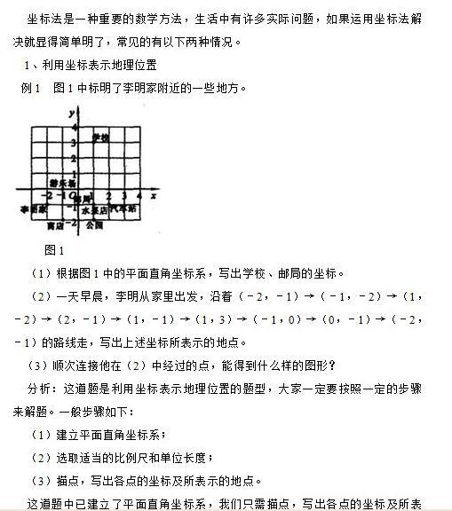 【每日一学】初中法的简单运用_初中数理老师招直小学化学坐标图片