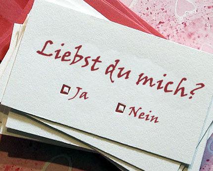 【520表白日】一句德语情话,向你爱的人表白!