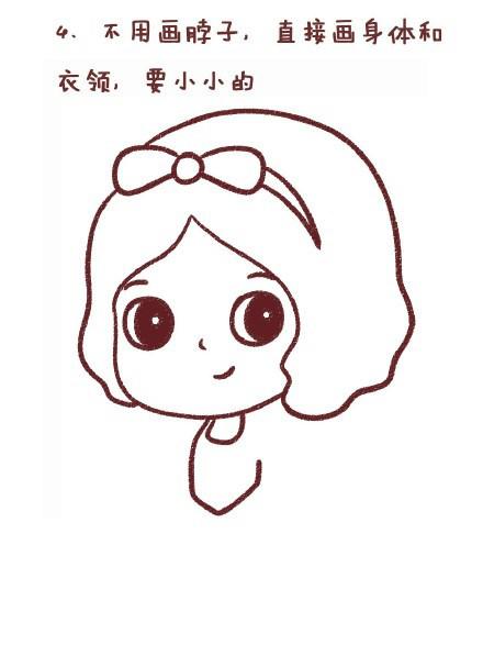 #画一画# 教程 第四十二期 白雪公主_看图说话