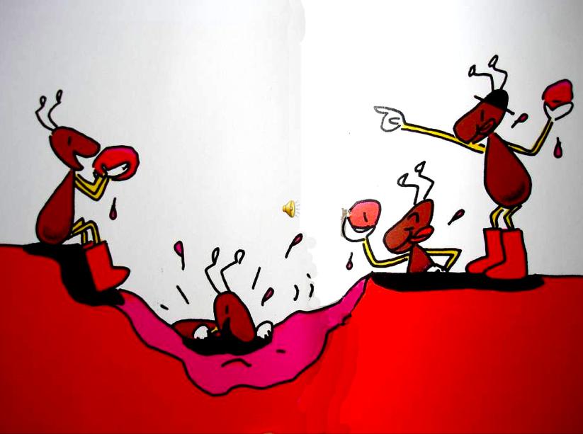 手工制作冬眠动物  粘土蚂蚁