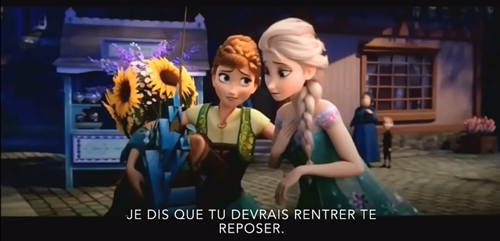 《视频歌曲:冰雪a视频》法语版字幕生日(带奇缘小型铲车视频图片