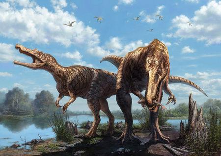 人类强悍得多的恐龙,尽管有一副令人惊颤的大块头