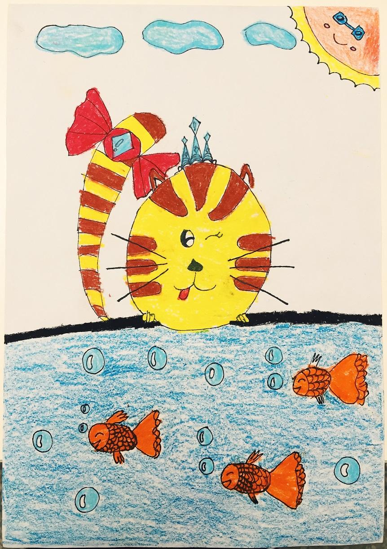 爱吃鱼的小花猫