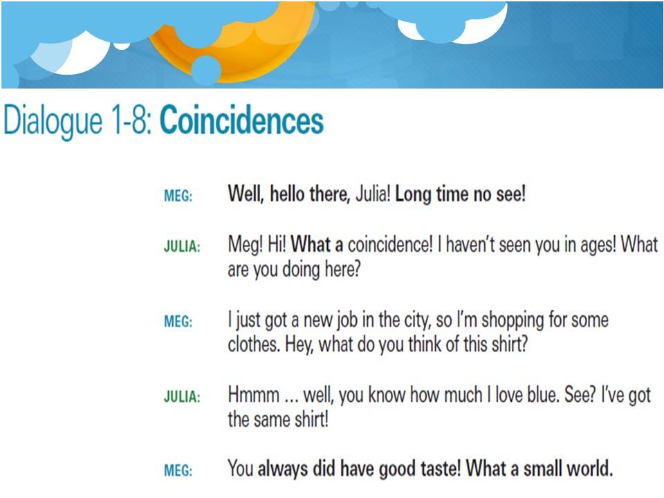 课程回顾:日常美式对话30天 1-8