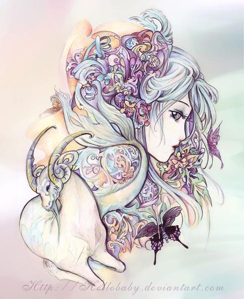 日本花 女神生活照