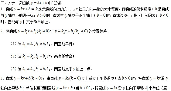 【每日一学】数学词汇知识点总结-一次函数_初初中初中英语试题图片