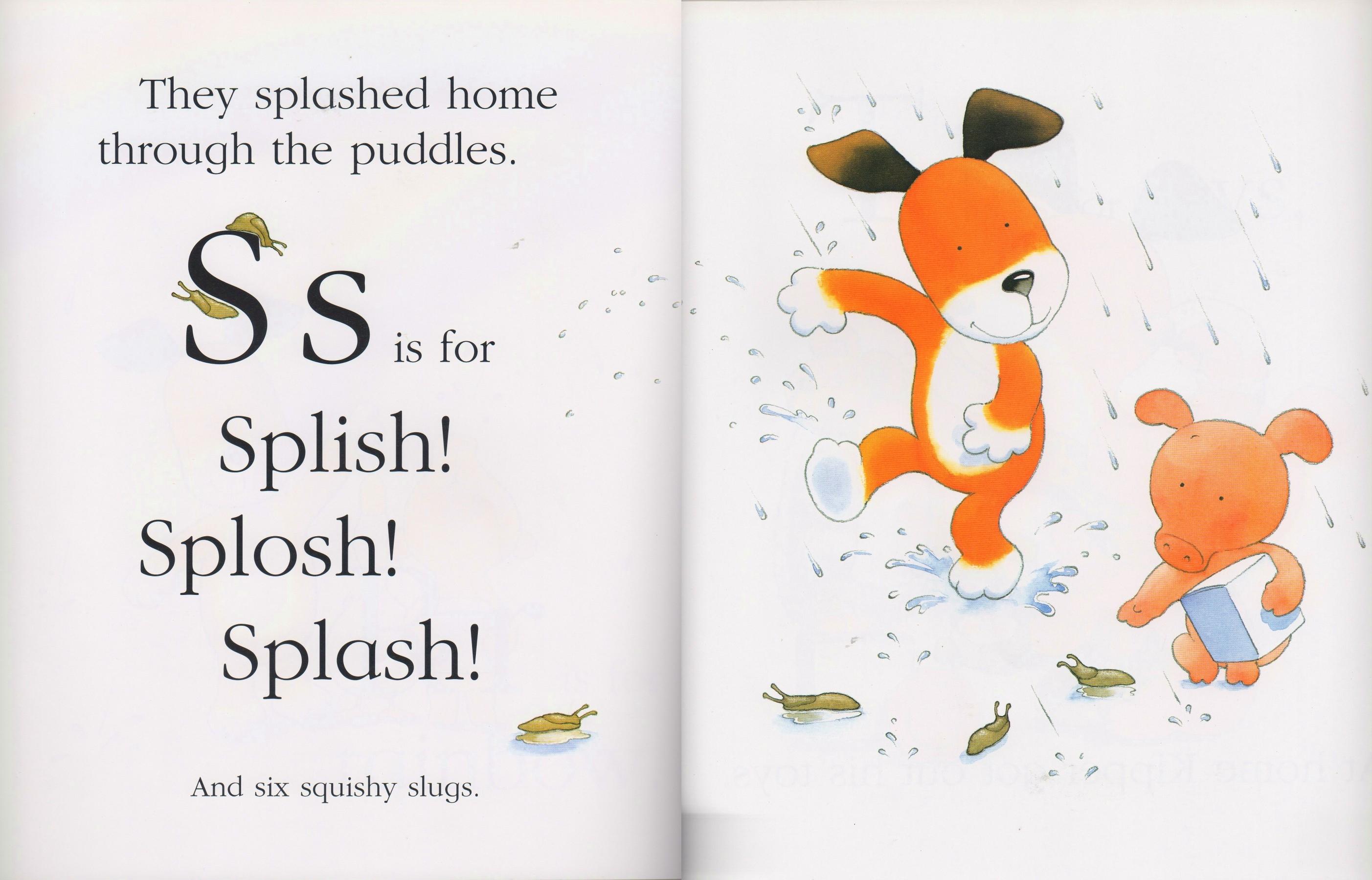 【糖豆妈绘本推荐】字母绘本续--可爱的小狗的字母记