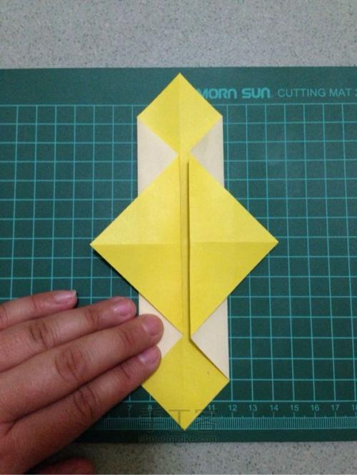 创意折纸灯笼手工教程