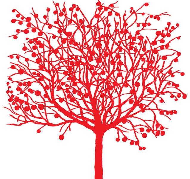 【爱上剪纸72纸上繁花】第06期の木林森林木