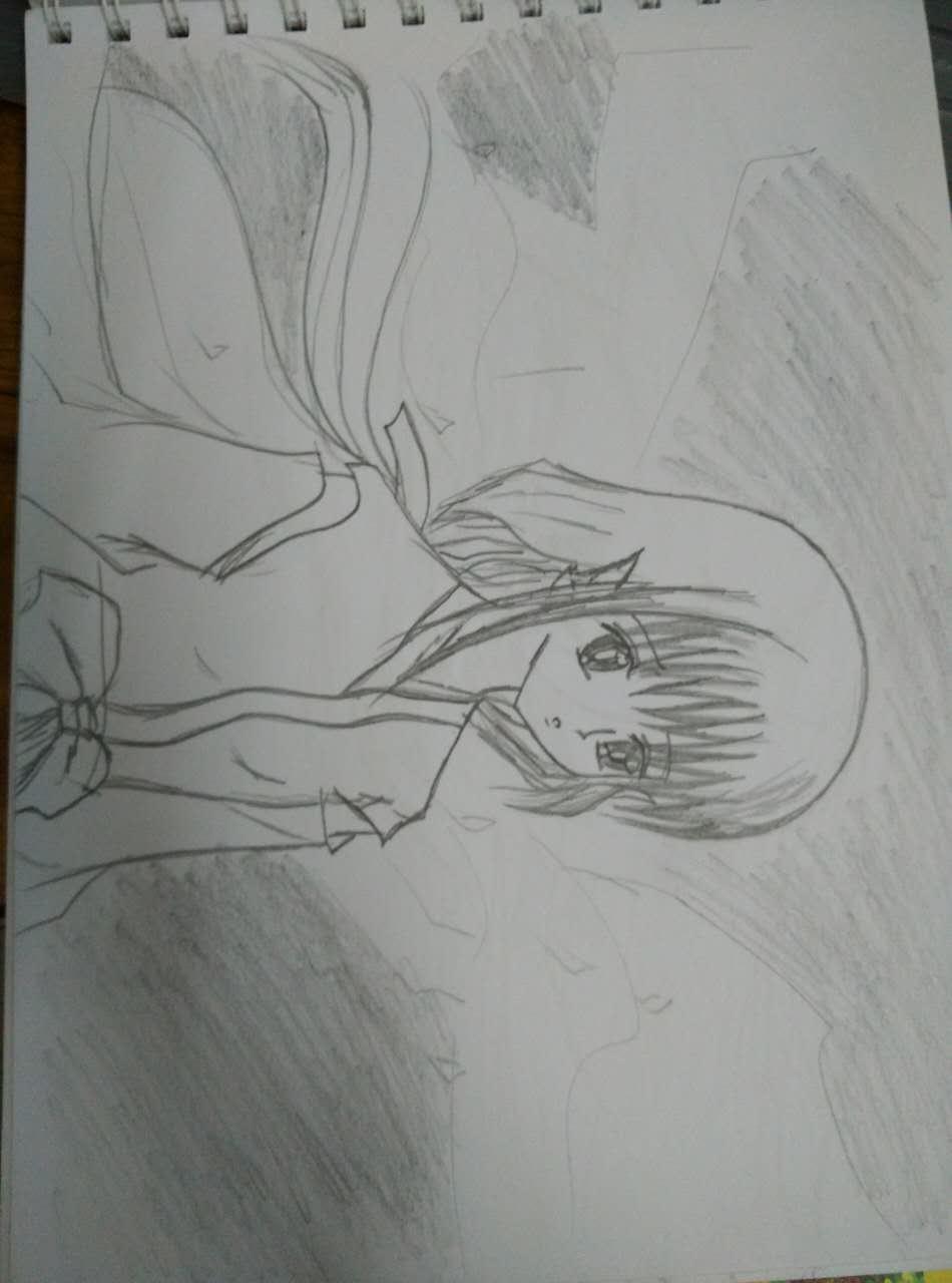 画画--那么远,那么近。_素描漫画社_v素描-名媛沪江漫画头牌图片