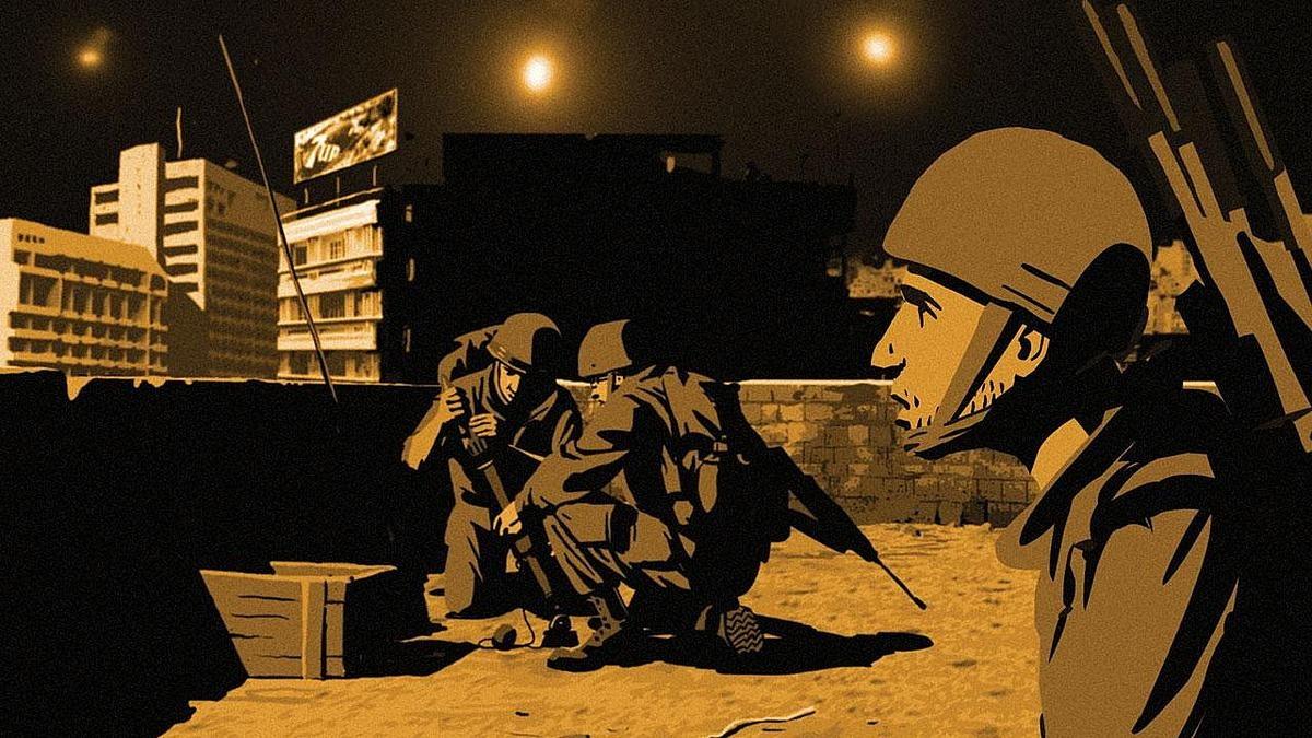 房放映厅】92 一部动画版的中东战争纪录片--