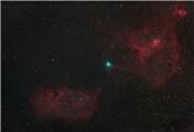 【豆芽天文社】★观Xing者★每日天文一讯——雅克彗星和心形、灵魂星云