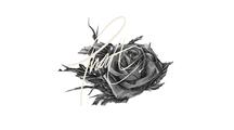 【黑白插画】创意无极限的LOVE情感表达