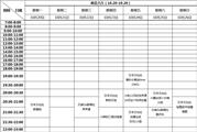 【萌音大厅】10.20-10.26 课表