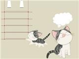 甜甜私房猫(超萌PPT模板)