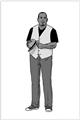 给大尺寸男士的九个时尚建议(七)