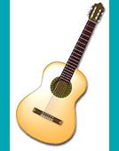 和竹子一起练吉他
