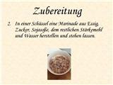 【德语】上海本帮菜介绍:糖醋小排
