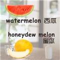 【实用词汇】新鲜水果新鲜学啦~水果style走起~