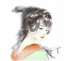 【教程贴】-水彩古风画临摹练习