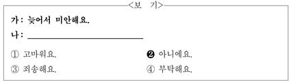 【每日一听】TOPIK初级—12.23听力训练(37)