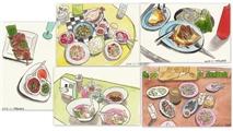 当吃货遇上水彩----【手绘曼谷和华欣的一食一餐】
