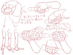 個人的、手前に来る指とコントローラーを持った手