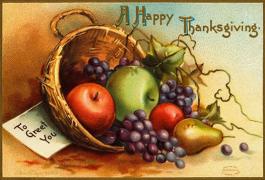 第四十五期 :thanksgiving