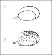 【跟我来学简笔画】今天教大家学习如何画可爱的负鼠哦~~