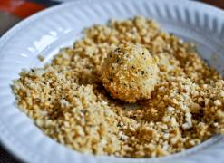 Appetizer - Crispy Parmesan Potato Puffs