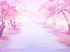 【萌萌哒图片】樱花树动漫照