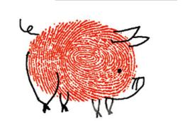 【手指画来咯】儿童手指画教程及儿童手指画作品大全