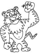 【跟我来学简笔画】今天教大家学习如何画强壮的老虎哦~~