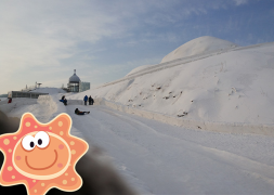 玩雪看冰,孩子的快乐的时光!