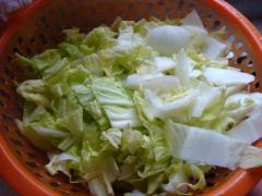 2015.1.5 炒黄芽菜+炖蛋