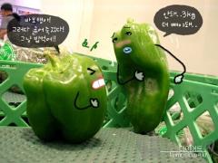 萌图韩语故事(28):《减肥的青椒》