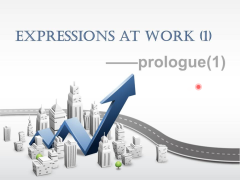 Expressions at work (1)- prologue(1)
