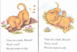 饼干小狗Biscuit系列:饼干小狗的洗澡时间