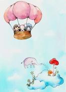 【温暖人心的插画】韩国Pungkyung插画
