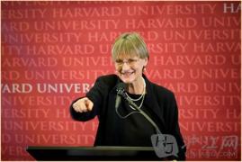 """哈佛大学女校长告诉你""""上大学的价值"""""""