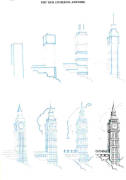 【资源放送】:50种建筑的画法(系列教材周更)