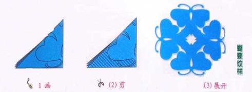 幼儿园新年窗花:蝴蝶剪纸