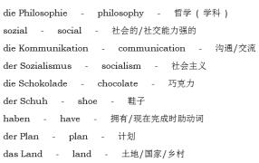 【高频词下载】DAF/DSH 常考德英形近词