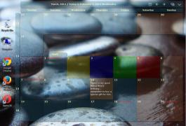 【多啦A梦的口袋】大家来推荐好用的时间管理工具吧~ 今天来个Desktop Calender~