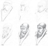 【资源放送】50种人物肖像的画法(系列教材周更)