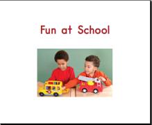 【海尼曼Gk】Fun at school