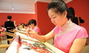 中国传统文化 | 四大名绣之湘绣 Xiang Embroidery