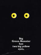【回味童年 英语原版童书(二十一)】走开,绿色的大怪兽