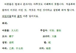 听《小王子》学韩语第1章[MP3格式]